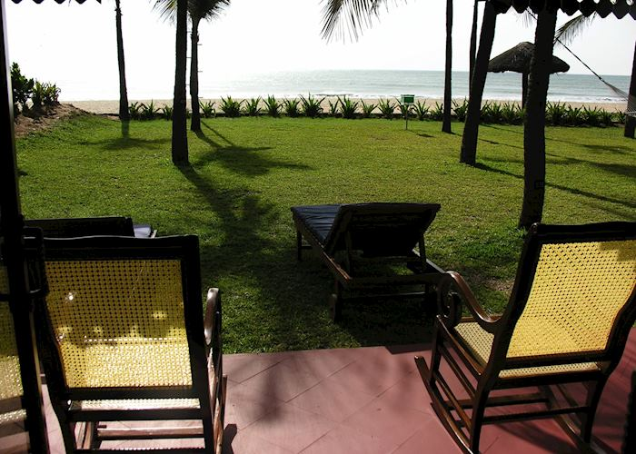 Premium Indulgence Sea View Cottage Verandah, Vivanta by Taj - Fishermans Cove, Mahabalipuram