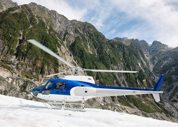 Helicopter on Franz Josef Glacier