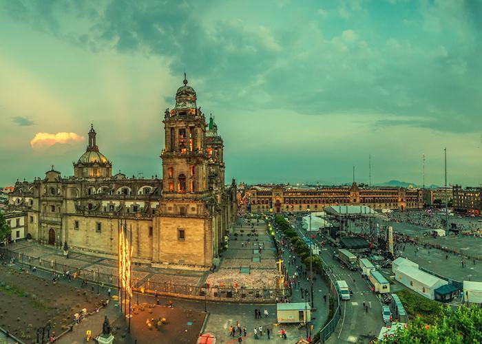 Zocalo, Mexico City