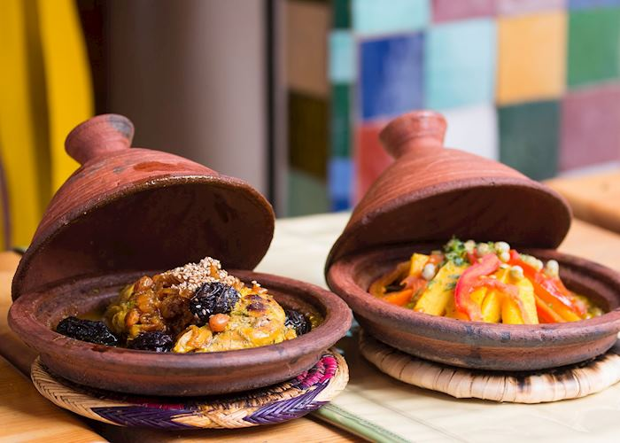 Traditional tajine, Morocco
