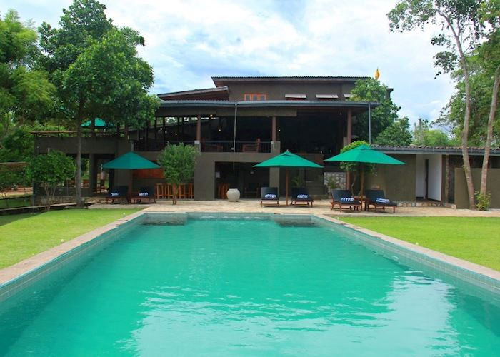 Swimming pool, Kalu's Hideaway