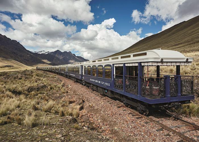 Belmond Andean Explorer Sleeper Train