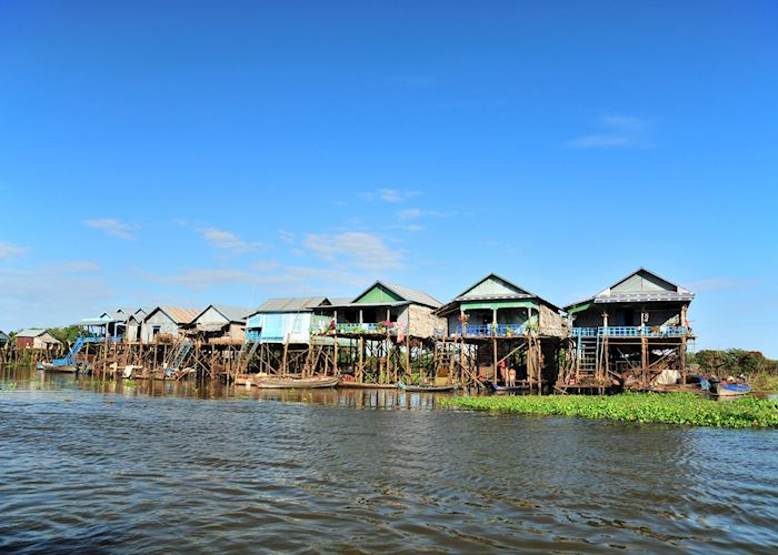 Floating villages, Tonle Sap