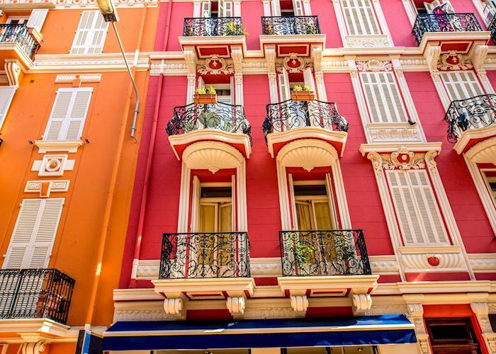 Building façade, Monte Carlo