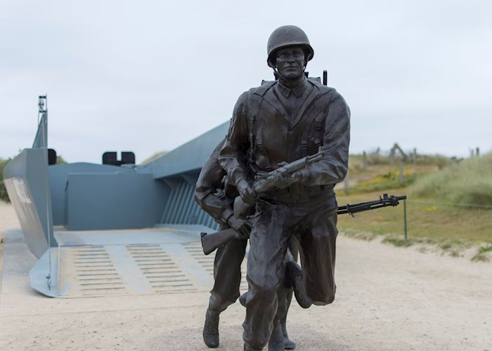 D-Day soldier memorial, Normandy