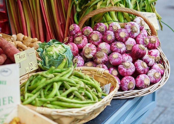 Vegetables at market, France