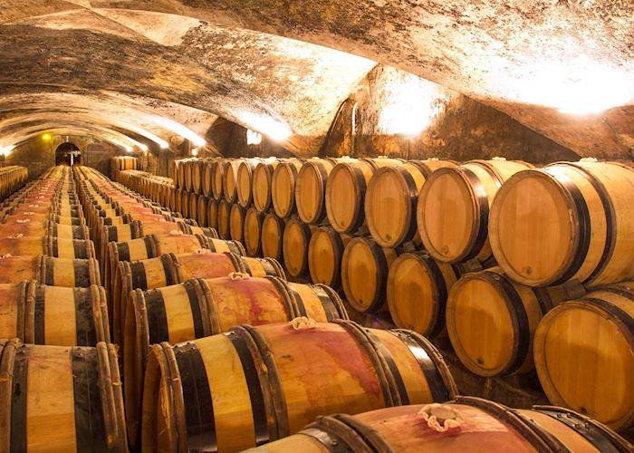 Wine cellar, Champagne