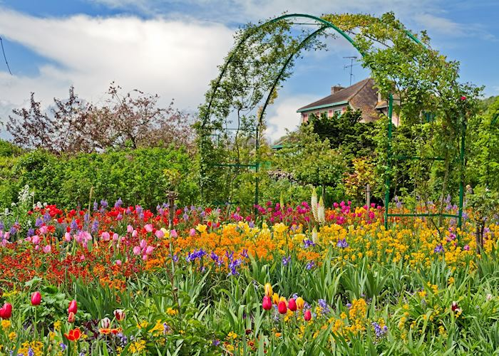 Claude Monet's house and gardens at Giverny, Normandy