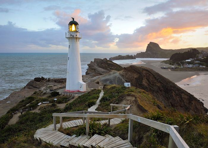 Castle Point Lighthouse, Wellington