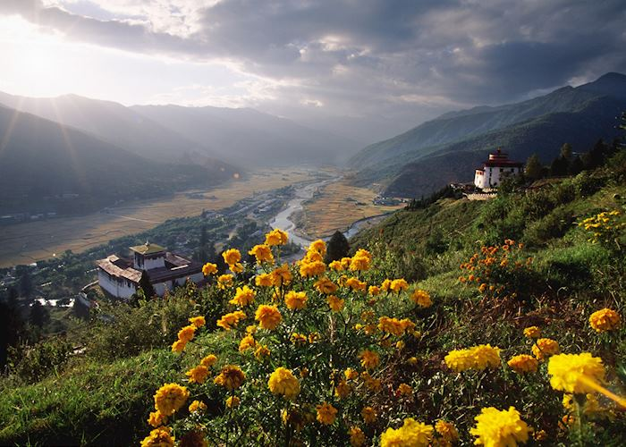Bhutan mountain scenery