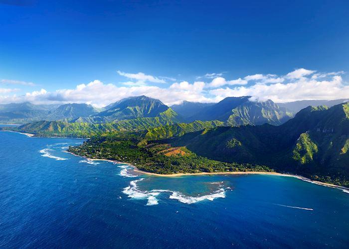 Na Pali Coastline - Kauai, Hawaii