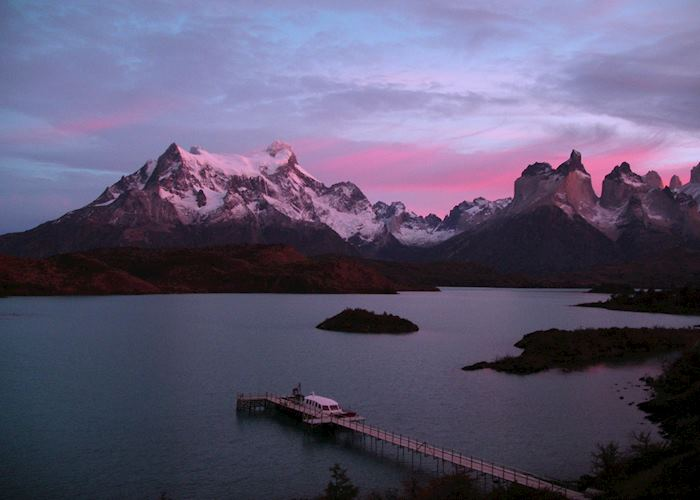 Sunrise from Explora en Patagonia, Chile