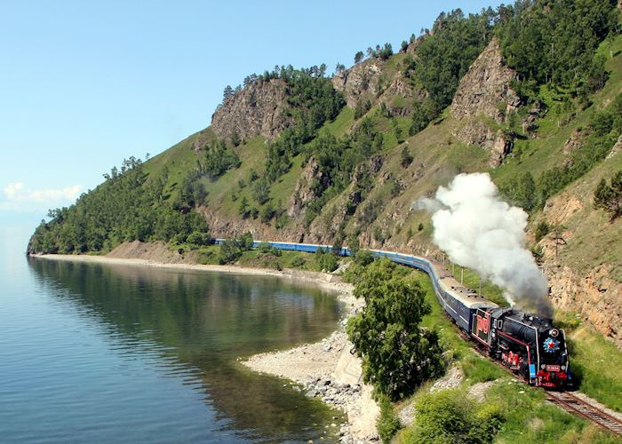 Golden Eagle Luxury Train, Lake Baikal