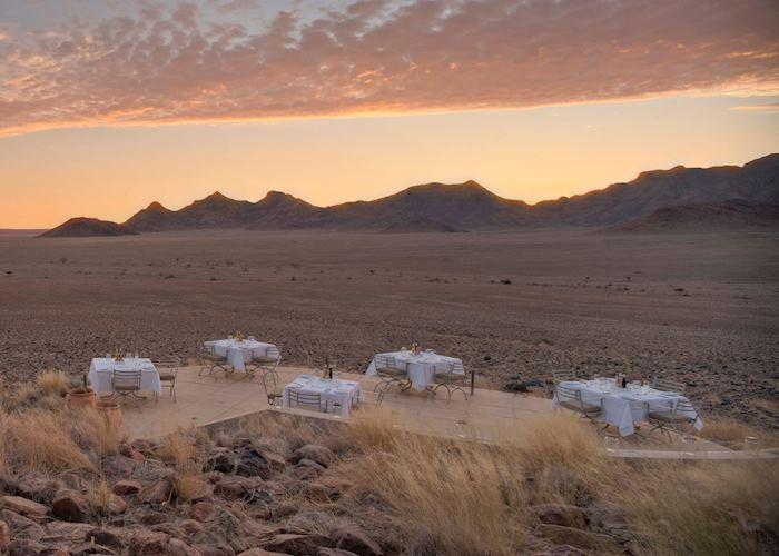 Sossusveli Desert Lodge Guest area