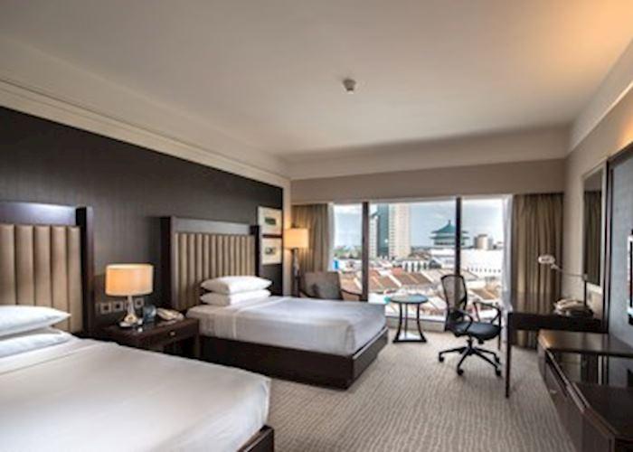 Hilton Kuching Twin Hilton Guestroom