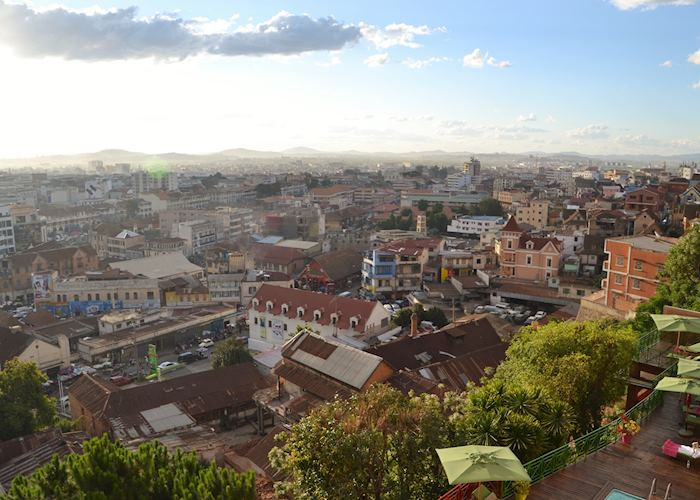 View of central Antananarivo