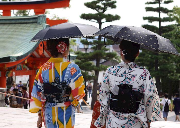 Romon Gate, Fushimi Inari, Kyoto