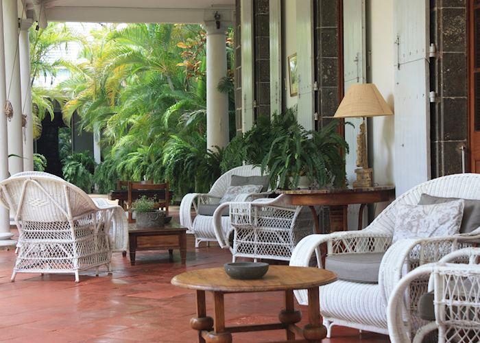 Veranda, La Demeure Saint Antoine, Mauritius