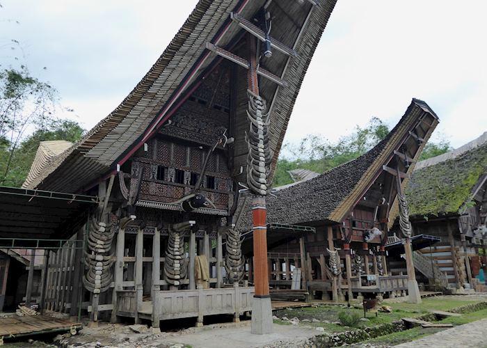 Traditional houses, Ke'te Ke'su