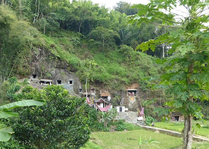 Cliff burial site of Lemo