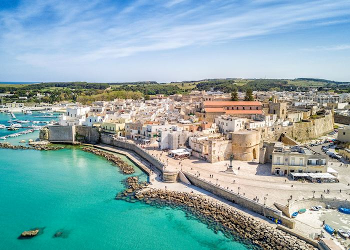 View over Otranto old town, Otranto
