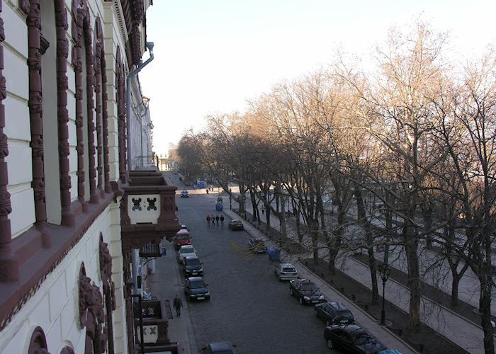 View from balcony, Hotel Londonskaya, Odessa