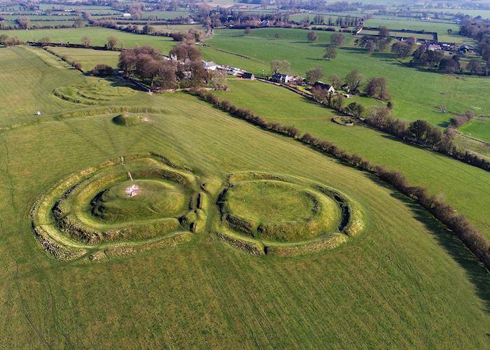 Hill of Tara near Newgrange