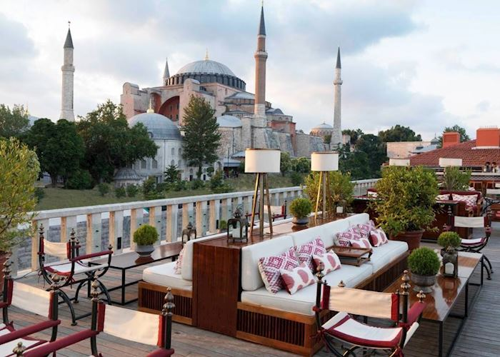 A'YA rooftop lounge at the Four Seasons Sultanhamet
