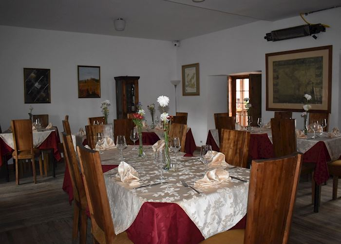 Dining room, Hotel Abadia Colonial