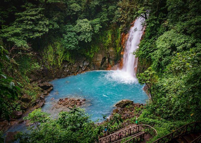Waterfall in Tenorio National Park, Costa Rica