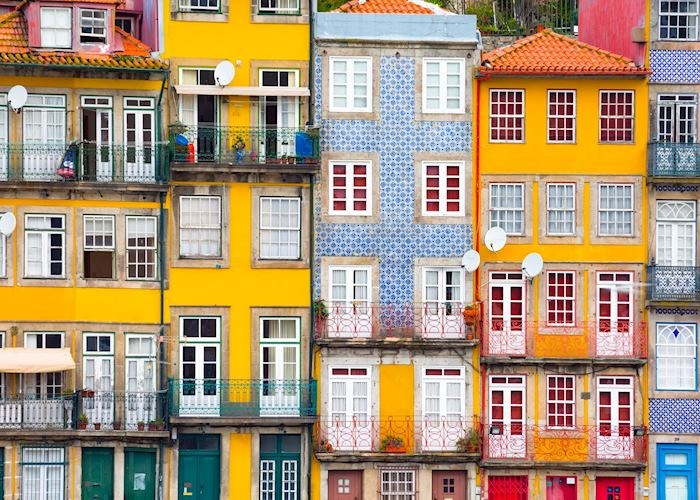 Cityscape of the old town, Porto