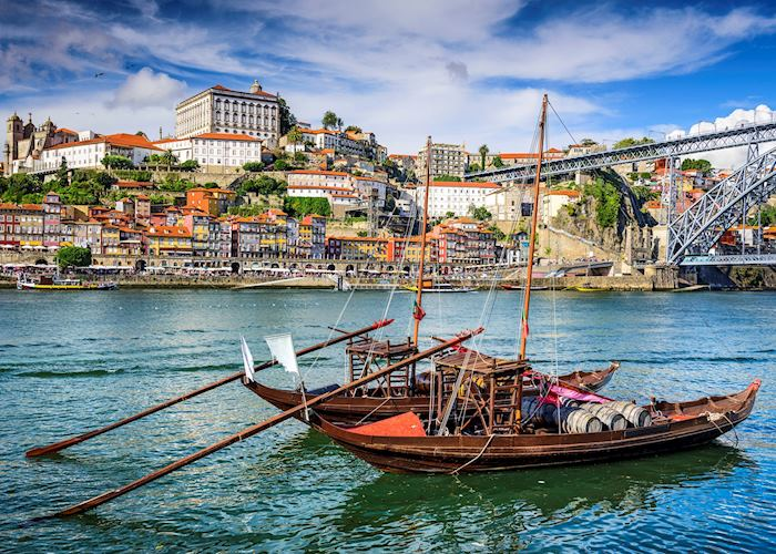 Traditional Rabelo boat, Porto