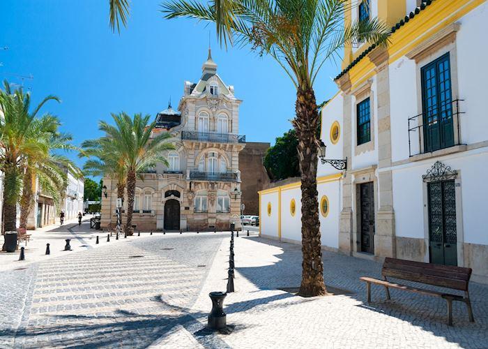 Faro cityscape, Algarve