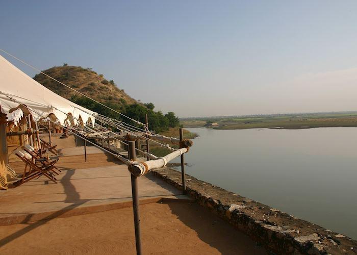 View from Chhatra Sagar