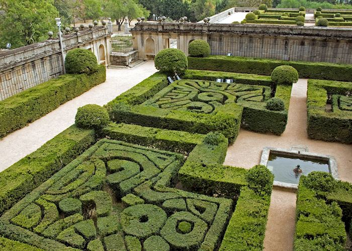 Hedge maze, El Escorial