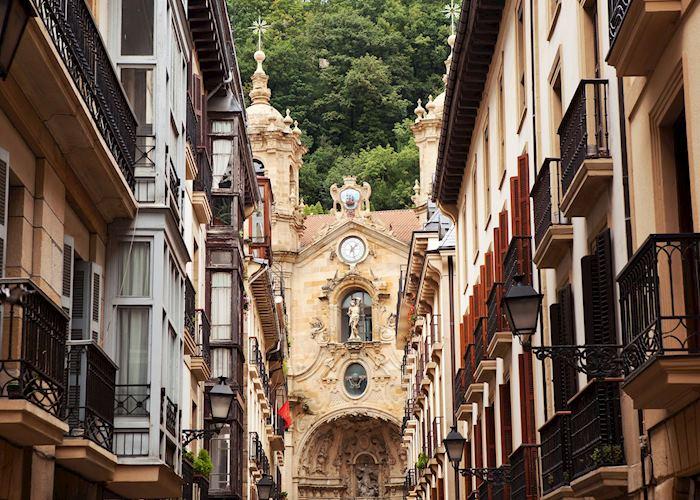 Old town, San Sebastián