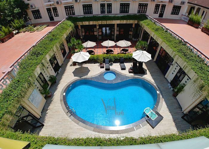 Pool at Villa Hue