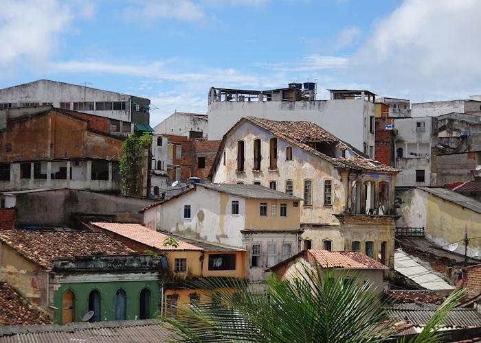 Salvador rooftops