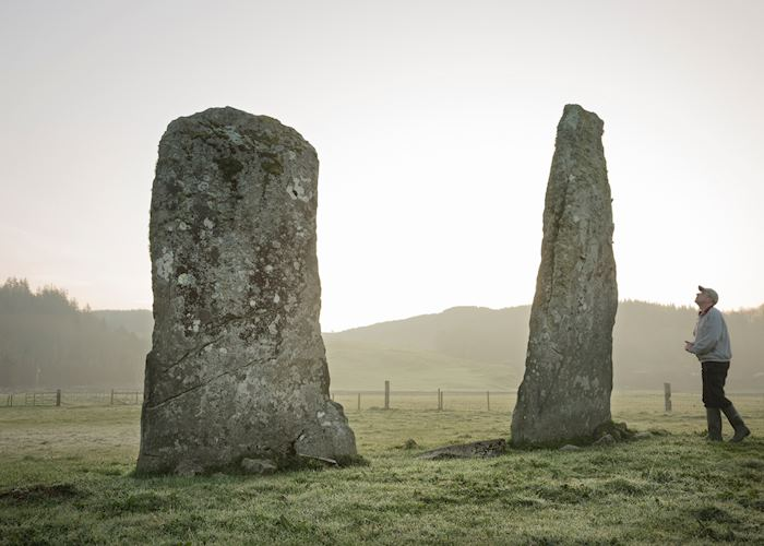 Standing stones in Kilmartin Glen