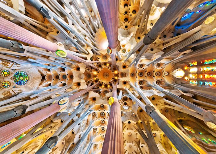 Roof of the Sagrada Familia, Barcelona
