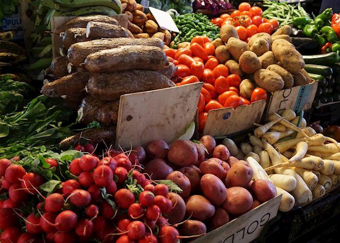 Market stall, Barcelona