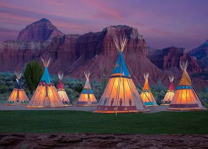 Capitol Reef Resort Teepees
