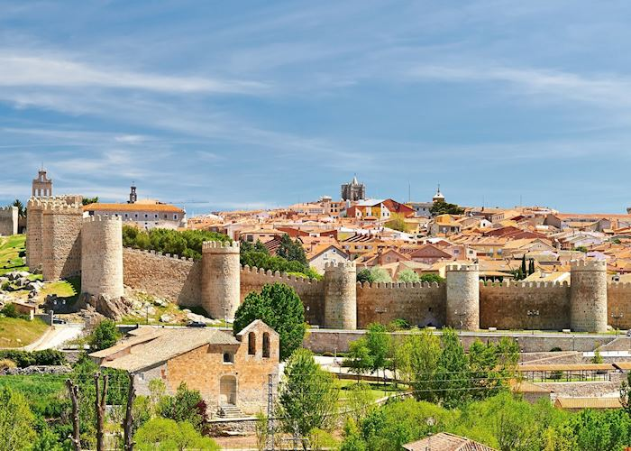 Walled city of Ávila, Spain