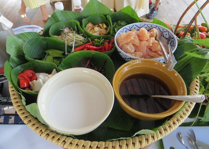 Cooking in Kanchanaburi