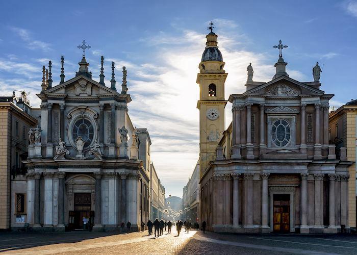 San Carlo and Santa Cristina churches, Turin