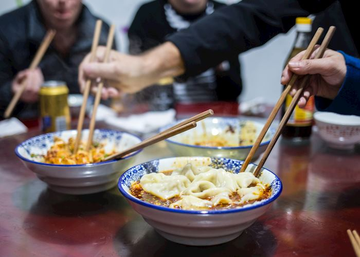 Dumplings on Food Tour, Chengdu