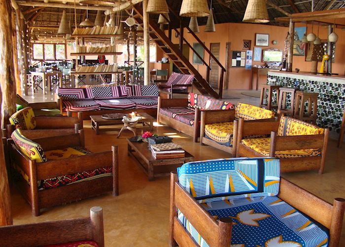 Bar at Kichanga Lodge
