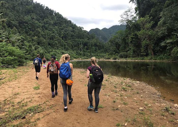 Hang En Cave two day trekking experience (Day one), Phong Nha-Ke Bang National Park