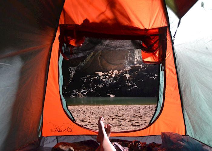 Hang En campsite, Phong Nha-Ke Bang National Park