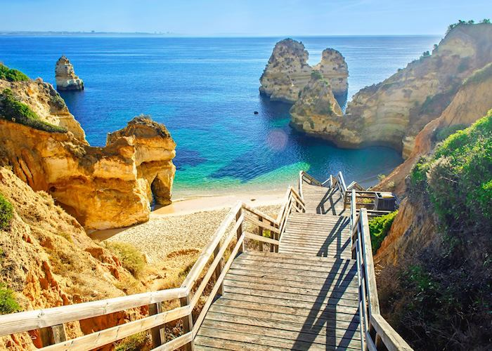 Sandstone cliffs, Algarve